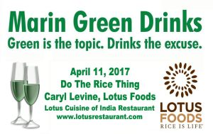 Marin Green Drinks on April 11